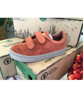 Deportivo Velcro Bronce Natural World
