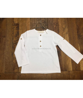 Camiseta blanca básica Vainica